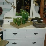 Charming old painted dresser