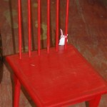 Child's Red Chair