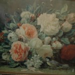 Lovely old floral print of roses