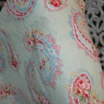 Sweet paisley fabric