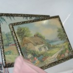 Sweet petite vintage cottage art