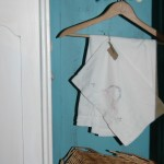 Old wardrobe and vintage linens