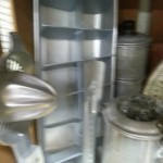 Galvanized kitchen goodies