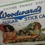 Woodwards candy advertisment