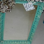 Fab turquoise mirror is fairest of all