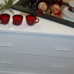 Storage with style white two-drawer chest