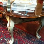 Beautiful antiqued table