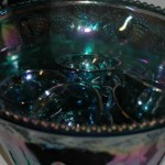 Carnival Glass punchbowl